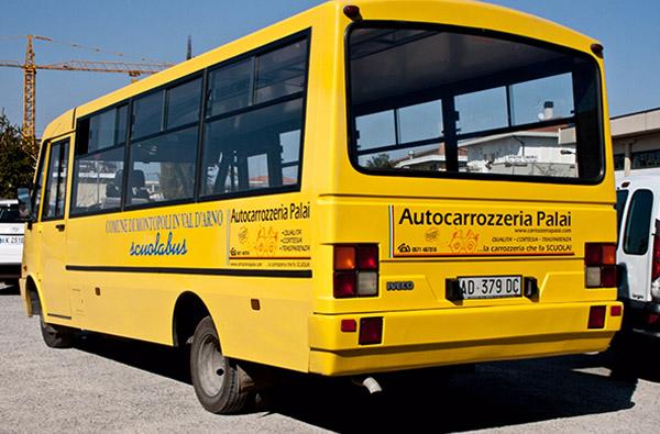 Sponsorizzazione scuolabus Palai